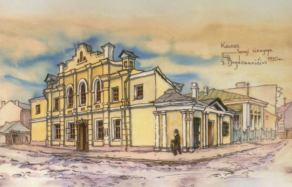 Senoji sinagoga (Kaunas)