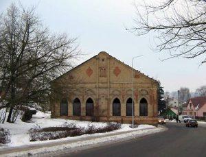 Alytaus sinagogos fasadas