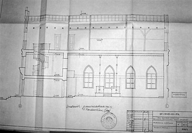 Alytaus sinagogos restauravimo projektas (1993m.)