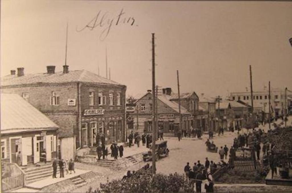 Alytaus Vilniaus gatvė 1930 metais