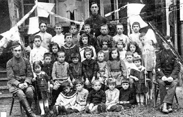 Alytaus žydų mokykla 1915 Milman
