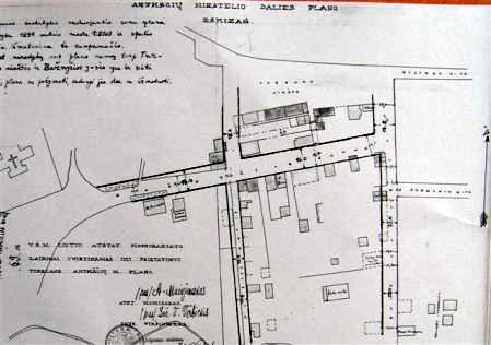 Anykščių miesto atstatymo planas