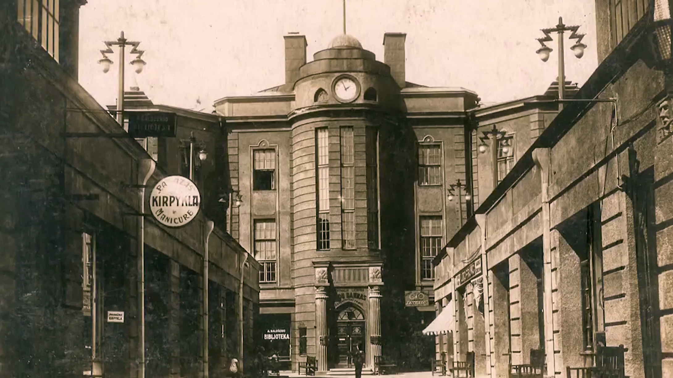Žydų bankas Kaune, XX a. dešimtmetis.