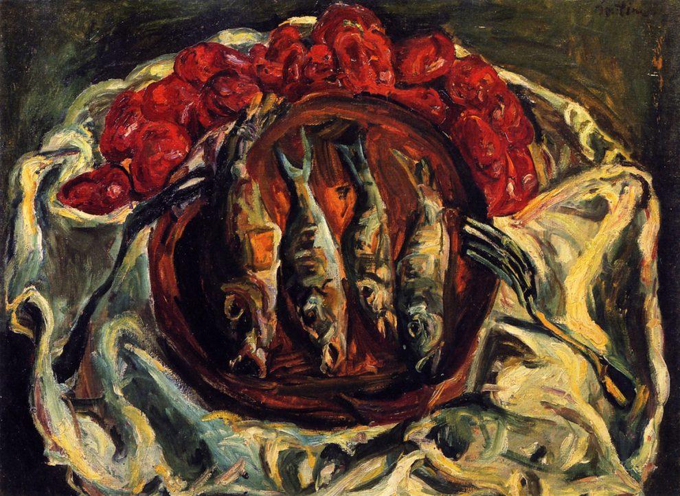 """""""Žuvis ir pomidorai"""" - Chaimas Sutinas"""