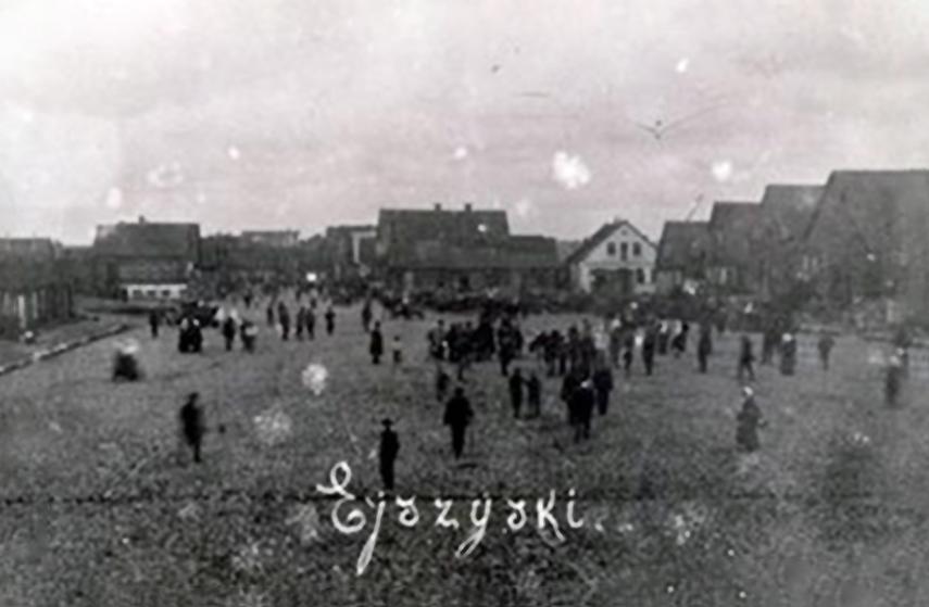 Eišiškių aikštė 1941m.