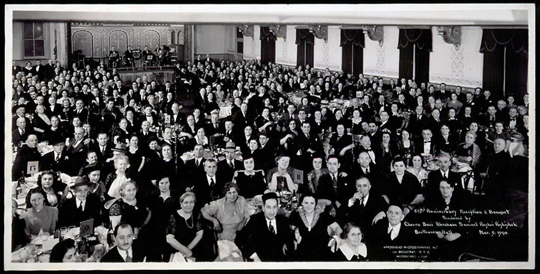 Eišiškių žydų emigrantų susirinkimas 1940 kovo 9 d. New York'e