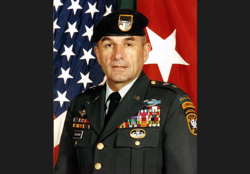 Generolas Majoras Sidney Shachnow