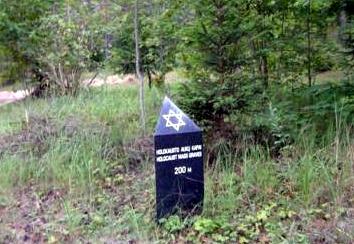 Genocido aukų kapavietės žymeklis