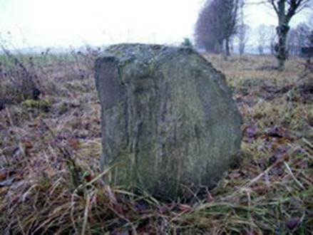 Paminklinis akmuo holokausto aukų (žydų vyrų) palaidojimo vietoje