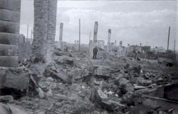 Kauno geto griuvėsiai 1944 m.