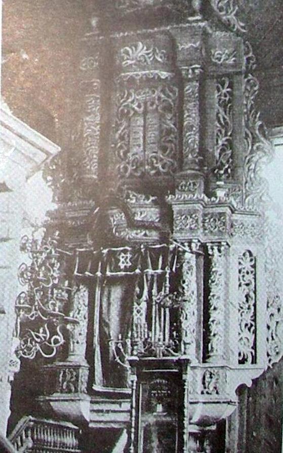 Kelmės Sinagogos Aron Kodešas.