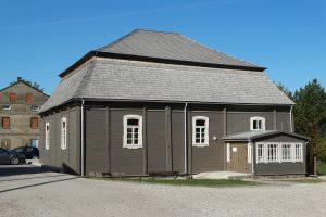Medinė Pakruojo sinagoga