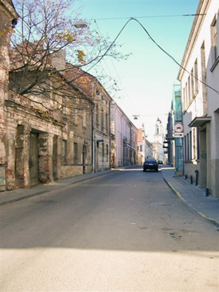 Muitinės gatvė šiandien (nuo Daukšos gatvės pusės).