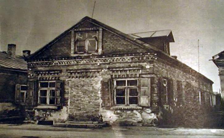 Namas Kauno g. 32 prieš rekonstrukcija