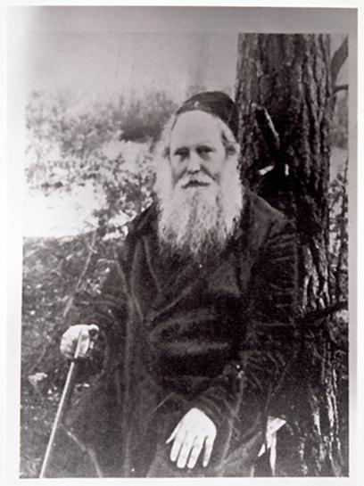 Rabinas Szymen Rozowski 1941 m.