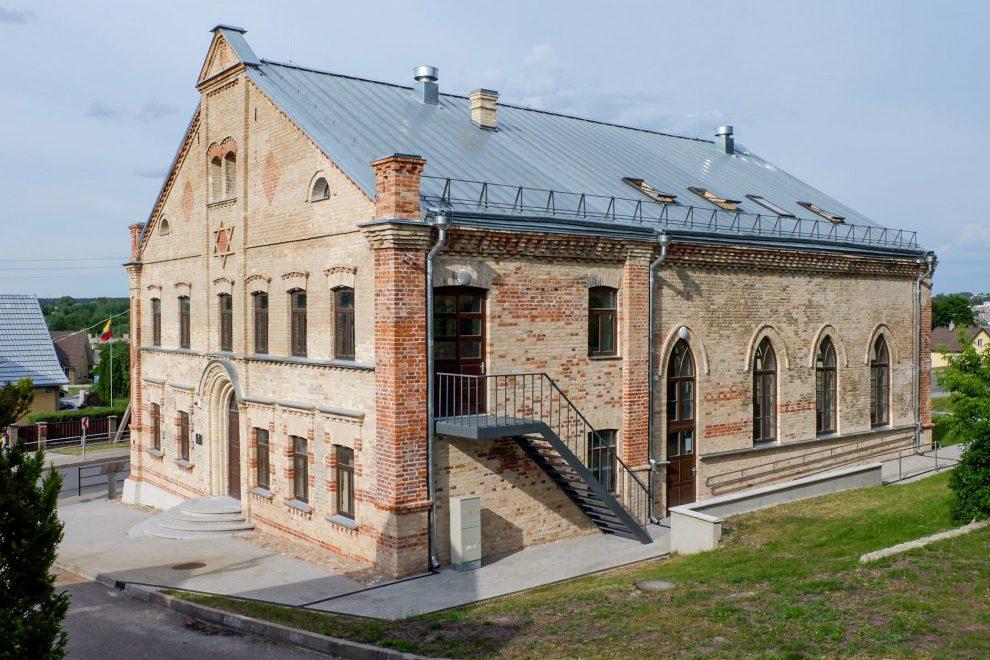 Restauruota Alytaus sinagoga