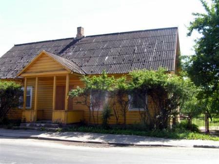 Rudolfo Baraniko tėvų namas