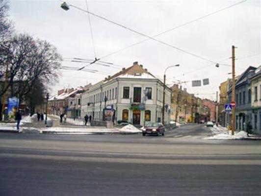 Buvęs Šajos Maizelio namas, dabar - Vilniaus g. 56.