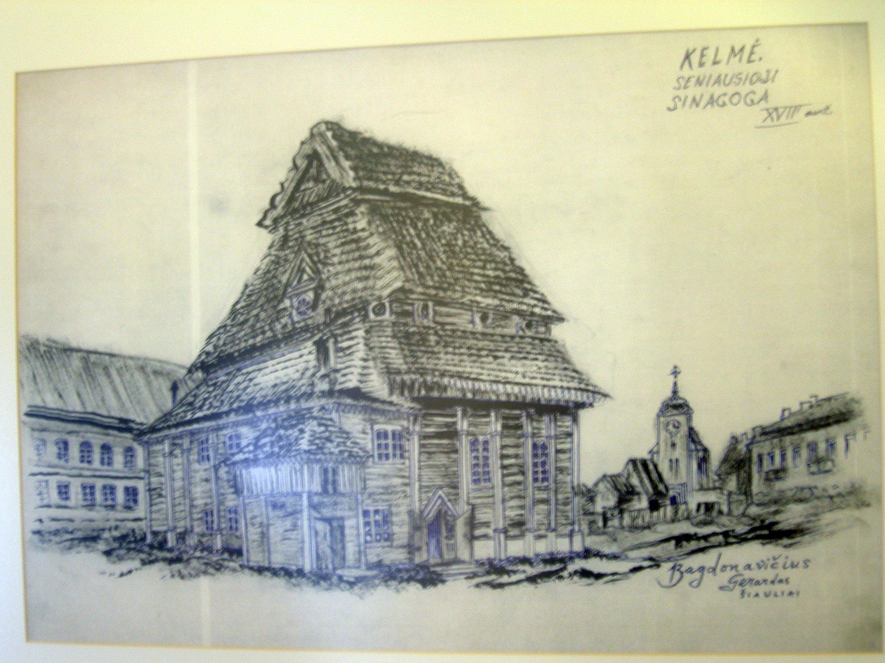 Senoji Kelmės sinagoga