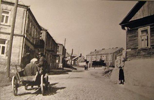 Senos Alytaus nuotraukos - Pagrindinės miesto gatvės