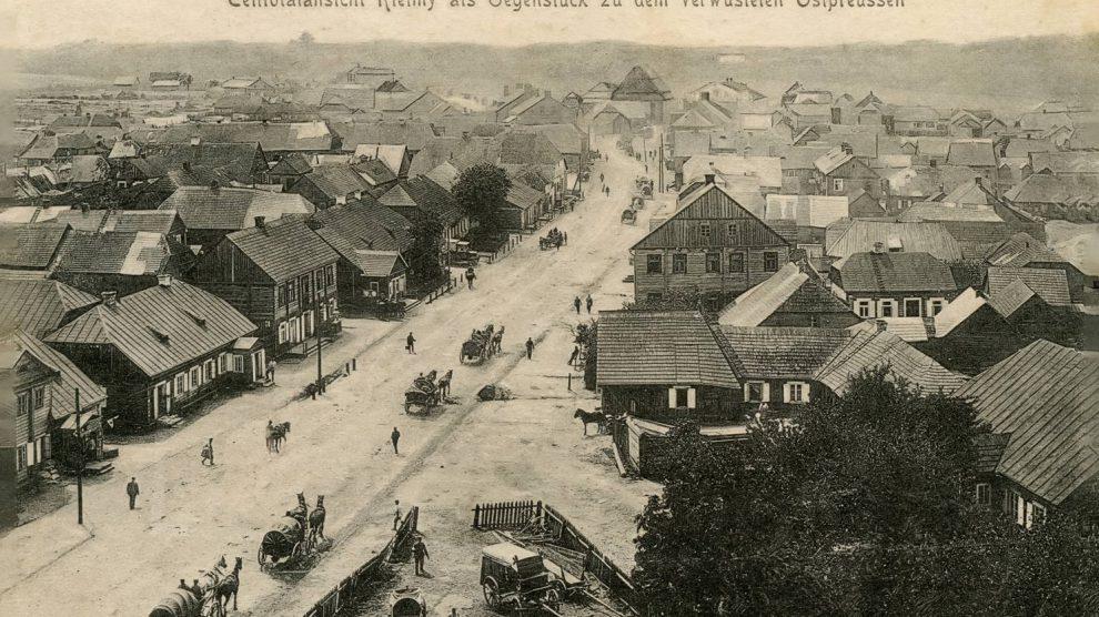Kelmės miestas (senose fotografijose)