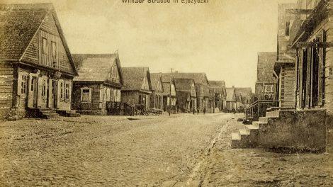 senos lietuvos fotografijos - Eišiškės (Vilniaus gatvė)