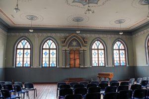 Sinagoga Joniškyje (Restauruotas interjeras)
