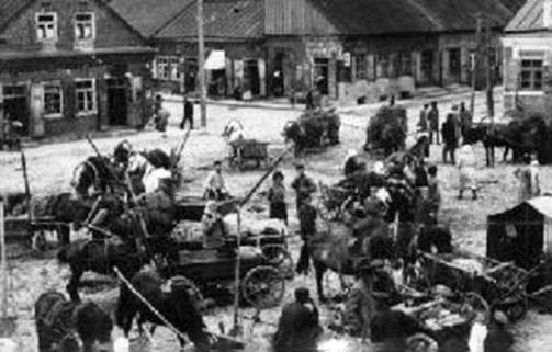 Jonavos miestelis turgaus dienomis