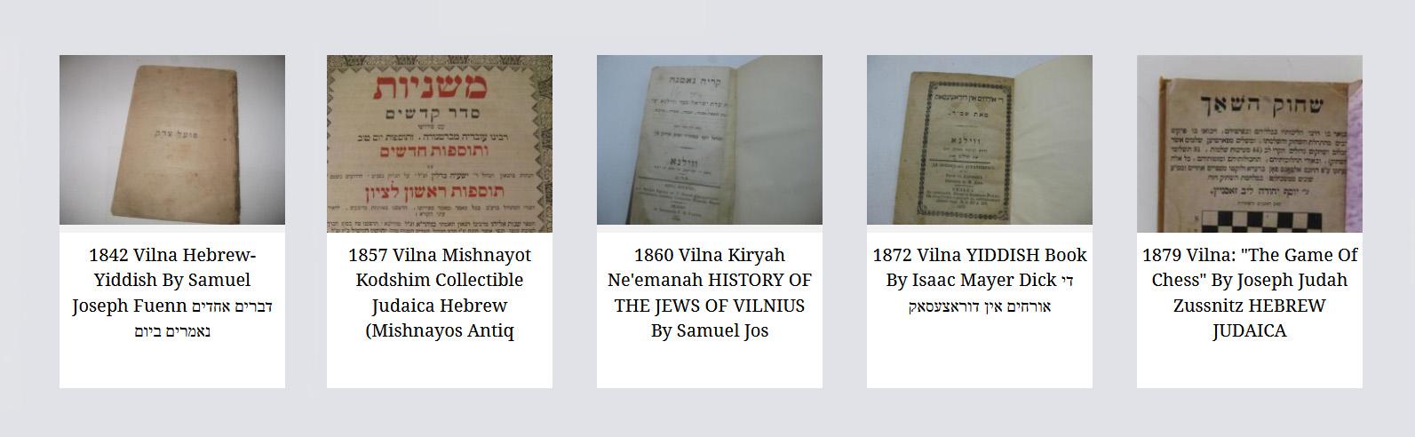 Yiddish (Jidiš) Literatūros kūriniai