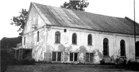 Žagarės sinagoga