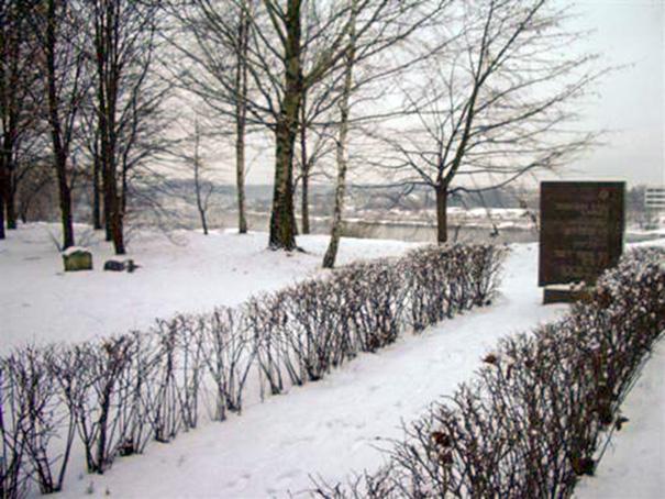 Žydų kapinės panemunėje