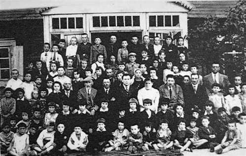Žydų mokyklos moksleiviai