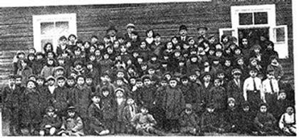 Žydų mokyklos vaikai 1937m. Alytuje (Alite)