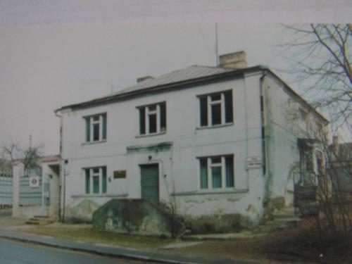 Dar viena sinagoga buvo įsikūrusi Šaltupio gatvėje